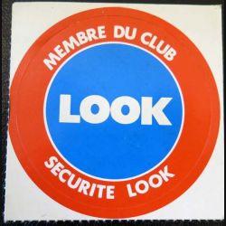 Autocollant Membre du Club Look securité look