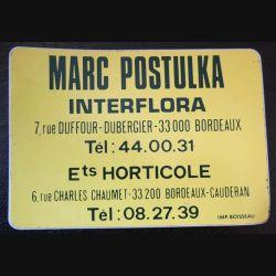 Autocollant Marc Postulka Interflora Bordeaux