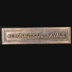 """BARRETTE """"AÉRONAUTIQUE NAVALE"""""""