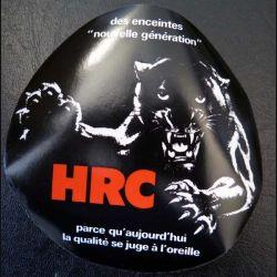 Autocollant des enceintes nouvelle génération HRC (collant sur face visuelle)