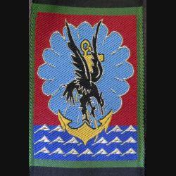 11° DP : insigne tissu de la 11° division parachutiste