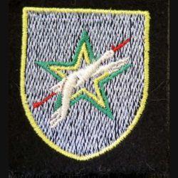 2° DIM : Insigne tissu de la 2° division d'infanterie marocaine
