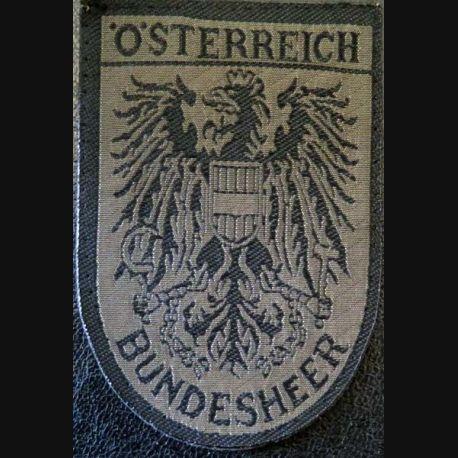 Insigne tissu de la Bundesheer Osterreich autrichienne basse visibilité