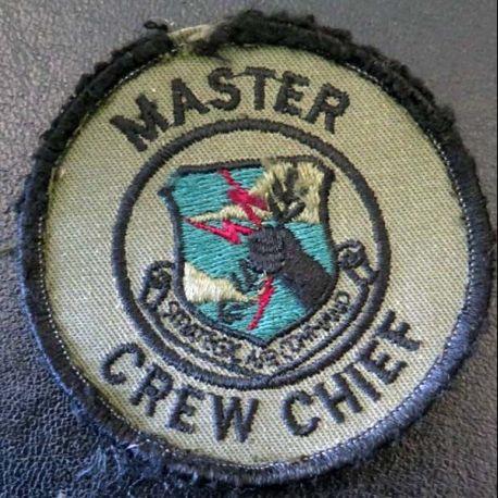 Insigne tissu d'US Master Crew Chief