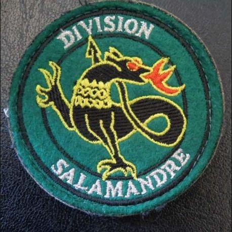Insigne tissu de la division Salamandre