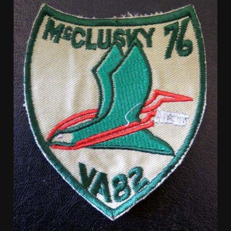Insigne tissu McClusky 76 VA 82