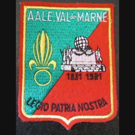 AALE : insigne tissu de l'amicale des anciens de la Légion Etrangère de Val de Marne