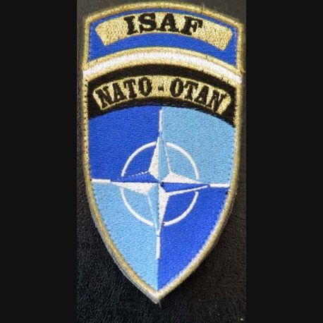 Insigne tissu de l'ISAF NATO OTAN