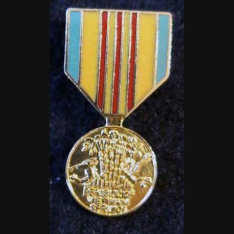 USA : Épinglette de la médaille de la Vietnam Service Medal  (4460)