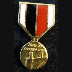 USA : Épinglette de la médaille Army of Occupation Medal  (4448)