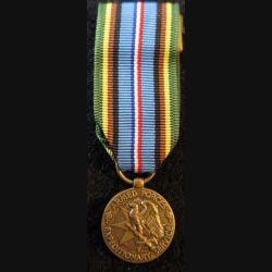 USA : Médaille miniature de la Armed Forces Expeditionary Medal (4456)