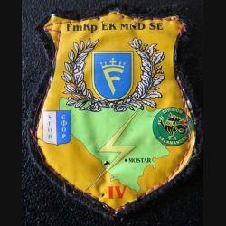 SFOR : insigne tissu de la FmKp EK MND SE Mostar transmissions