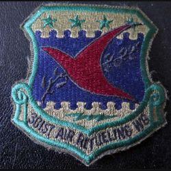 Insigne tissu US  301° Air Refueling wings US patch hauteur 8 cm