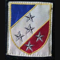 1° ARMÉE : insigne tissu de la 1° armée de heuteur 7,3 cm