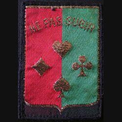 14° DI : insigne tissu de la 14° division d'infanterie Ne pas subir de dimension 5,6 x 8 cm