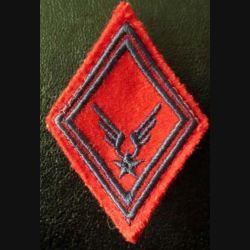 LOSANGE DE BRAS MODÈLE 45 : ALAT artillerie troupe avec crochets
