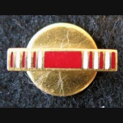 USA : Bouton de rappel de la médaille Good Conduct Medal US Army en métal émaillé (4425B)