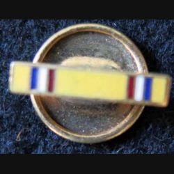 USA : Bouton de rappel de la médaille de l'American Defense Service Medal en métal émaillé (4434B)