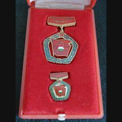 HONGRIE : Médaille du mérite du travail hongrois de la brigade socialiste (223)