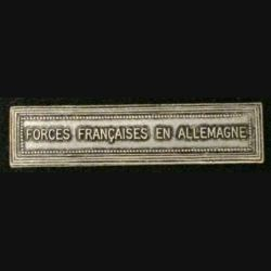 "BARRETTE ""FORCES FRANÇAISES EN ALLEMAGNE"""