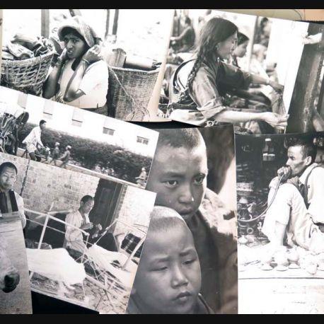 59 photos originales différentes du Népal des années 1970 taille 15 x 23 cm environ (C173)