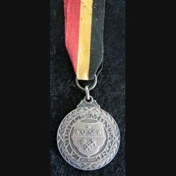 BELGIQUE : médaille civile la vieille montagne 1831-1937 en métal argenté