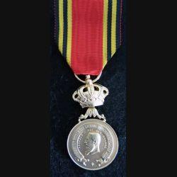BELGIQUE : médaille de la fédération royale des ex-sous officiers de l'armée belge (L290)