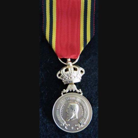 BELGIQUE : médaille de la fédération royale des ex-sous officiers de l'armée belge