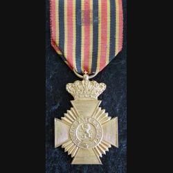 BELGIQUE : médaille Décoration militaire de 2° classe pour ancienneté
