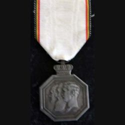 BELGIQUE : Médaille commémorative du centenaire de l'indépendance nationale 1830-1930
