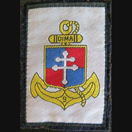 9° DIMA : Insigne tissu de la 9° division d'infanterie de marine 9°DIMA sans crochets