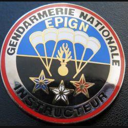EPIGN : Brevet instructeur de l'escadron parachutiste d'intervention de la Gendarmerie nationale EPIGN Boussemart 2004 N° 36/A