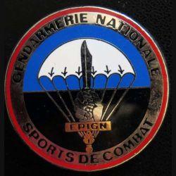 EPIGN : Brevet de sports de combat Escadron parachutiste intervention Gendarmerie Nat EPIGN Boussemart n° 36/A