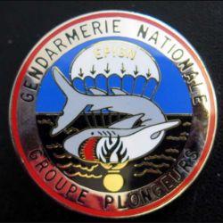 EPIGN : Brevet de groupe plongeurs Escadron parachutiste intervention Gend Nat EPIGN Boussemart n° 36/A