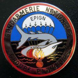 EPIGN : Brevet de groupe plongeurs Escadron parachutiste intervention Gend Nat EPIGN Boussemart n° 38/A