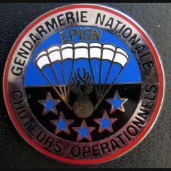 EPIGN : Brevet de chuteurs opérationnels Escadron parachutiste intervention Gend Nat EPIGN Boussemart n° 37A