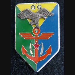 DJIBOUTI : Insigne métallique de l'état major des forces armées de Djibouti Drago Paris