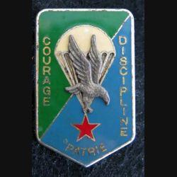 DJIBOUTI : Insigne métallique des parachutistes des forces armées de Djibouti Drago Paris