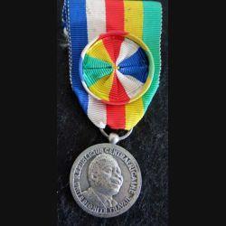 CENTRAFRIQUE  : médaille d'officier de la médaille du travail 1962