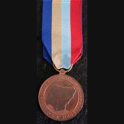 NIGERIA  : médaille de la National Service Medal 1975 en métal couleur cuivre
