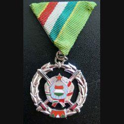 HONGRIE : Médaille du service militaire 2° année