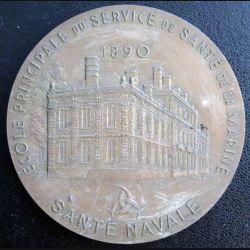 ESSA : médaille de table du centenaire de l'école du service de santé des armées de Bordeaux santé navale