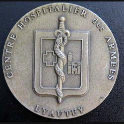 ESSA : médaille de table du centre hospitalier des Armées Lyautey