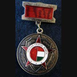 HONGRIE : médaille commémorative 1956-1991 de diamètre 3,4 cm