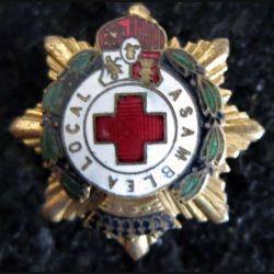 ESPAGNE : Insigne de revers de l'Assemblée locale de la Croix-Rouge (asamblea local)