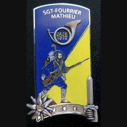 PROMOTION ENSOA : SGT Fourrier Mathieu de fabrication LMP G 5942 numéroté