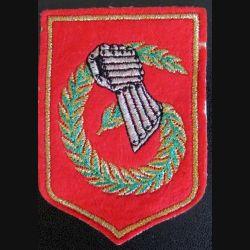 6° DLB : insigne tissu de la 6° division légère blindée