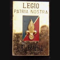 3° REI : 3° régiment étranger d'infanterie de fabrication Balme G.3426 grenade relief
