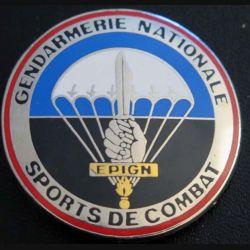 EPIGN : Brevet de sports de combat Escadron parachutiste intervention Gendarmerie Nat EPIGN Boussemart 2002 N° 38/A