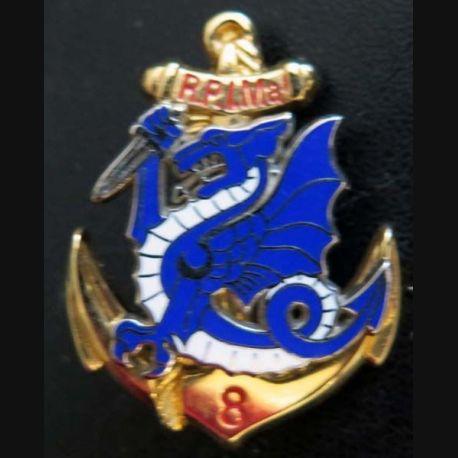 8° RPIMA : 8° régiment parachutiste d'infanterie de marine Boussemart dragon bleu